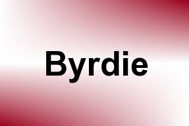 Byrdie name image