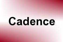 Cadence name image
