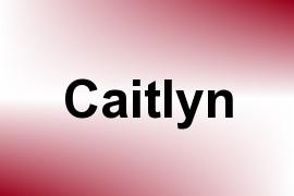Caitlyn name image
