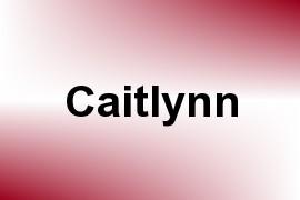 Caitlynn name image