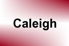 Caleigh name image