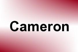 Cameron name image