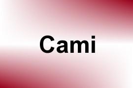 Cami name image