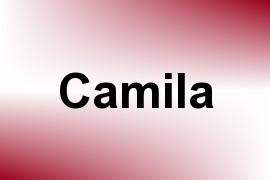 Camila name image