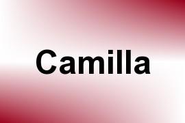 Camilla name image
