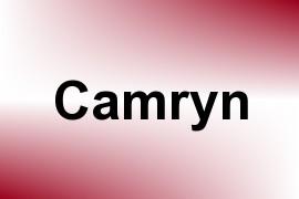 Camryn name image