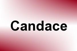 Candace name image