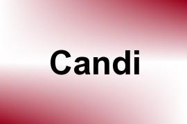 Candi name image