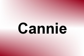 Cannie name image