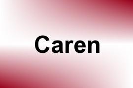 Caren name image