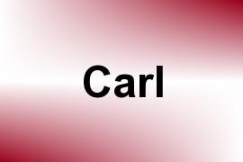Carl name image