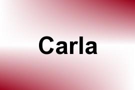 Carla name image
