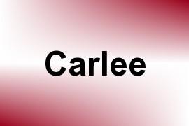 Carlee name image