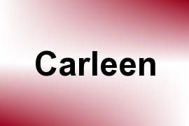 Carleen name image