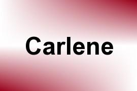 Carlene name image