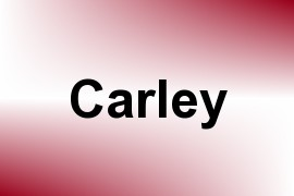 Carley name image