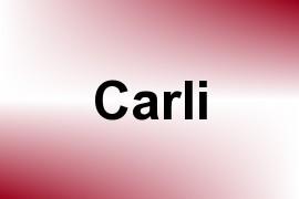 Carli name image