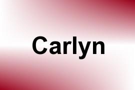Carlyn name image