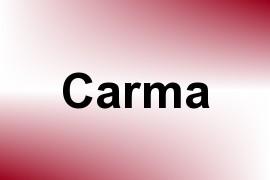 Carma name image