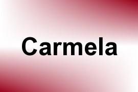 Carmela name image