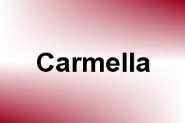 Carmella name image