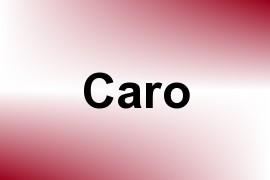 Caro name image