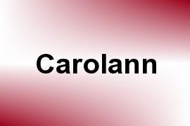 Carolann name image