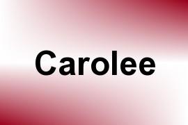 Carolee name image