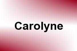Carolyne name image