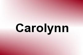 Carolynn name image