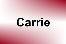 Carrie name image