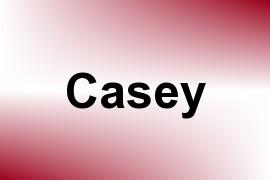Casey name image