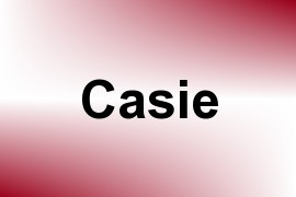 Casie name image