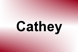 Cathey name image