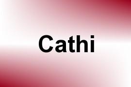 Cathi name image