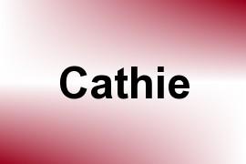 Cathie name image