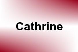 Cathrine name image