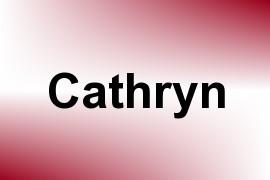 Cathryn name image