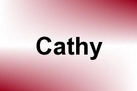 Cathy name image