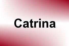 Catrina name image