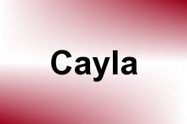 Cayla name image