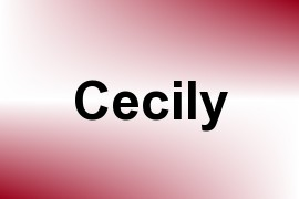 Cecily name image