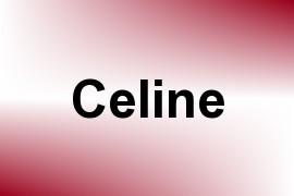 Celine name image