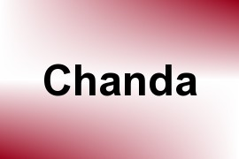 Chanda name image