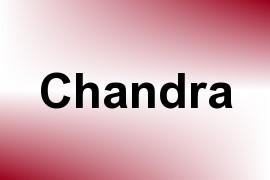 Chandra name image