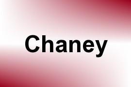 Chaney name image
