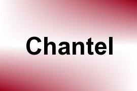 Chantel name image