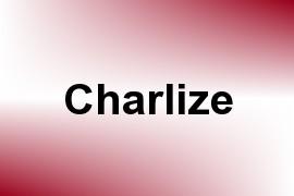 Charlize name image