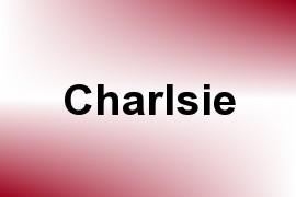 Charlsie name image