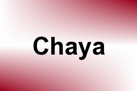Chaya name image